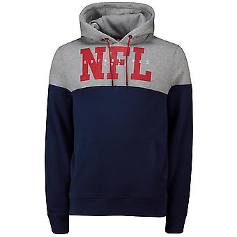 NFL cut & sew Hoody - SHIELD LOGO navy