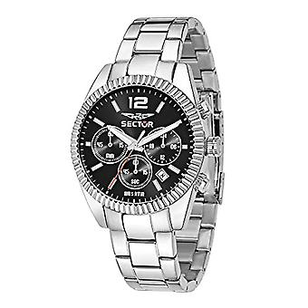 Sector No Limits Watch analog quartz watch with stainless steel band _ R3273676003