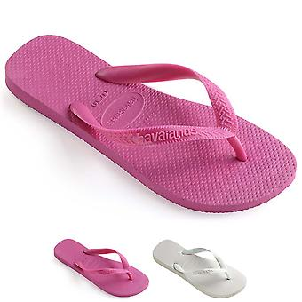 Unisex Kids Havaianas Top Rubber Lightweight Summer Sandals Flips Flop