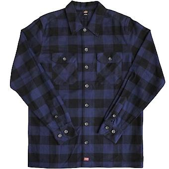 Dickies Sanderson Long Sleeve Shirt Navy