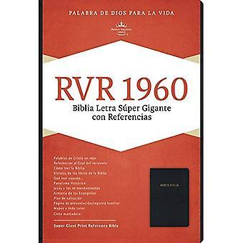 Rvr 1960 Biblia Letra S per Gigante, Negro Imitaci n Piel
