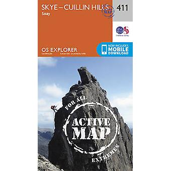 Skye - Cuillin Hills - Soay by Ordnance Survey - 9780319472668 Book