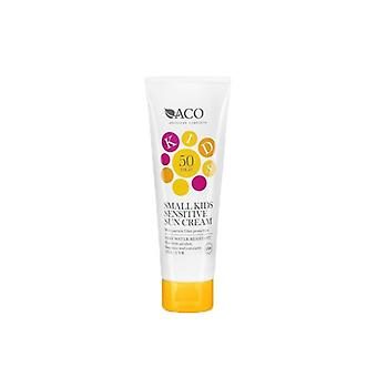 ACO Kids Small Sensitive Sun Cream SPF 50 125ml ACO Kids Small Sensitive Sun Cream SPF 50 125ml