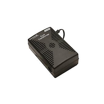 Campingaz Euro Transformer 230Vac/12Vdc with UK Plug - Black