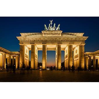 Behang muur Brandenburger Tor