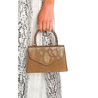 IKRUSH dame Sandy Croc Print håndtaske