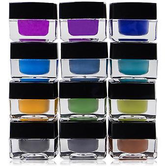 SHANY Smudge prova delineador gel Set-conjunto de 12 cores-Masquerade