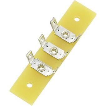 Número Total de la solo-fila PCB Terminal tiras de pines 3 epóxido (L x W x H) 44 x 10 x 1,6 mm Conrad componentes 1 PC