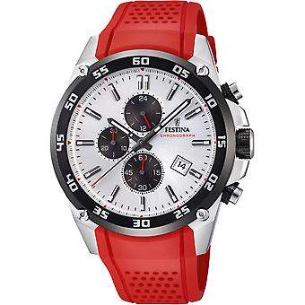 Festina Original Quartz Analog Man Watch z silikonową bransoletą F20330/1