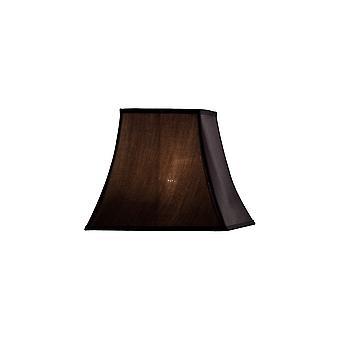 Diyas Contessa Square Small Shade Black 130/205mm X 185mm