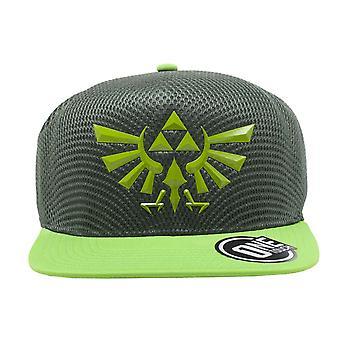 Zelda Baseball Cap Hyrule Crest Logo Seamless new Official Nintendo Green