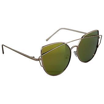 Sunglasses UV 400 Cat Eye Gold multicoloured GeelHL149_7