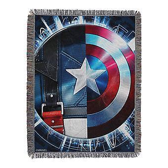 Captain America Star Agent Blanket