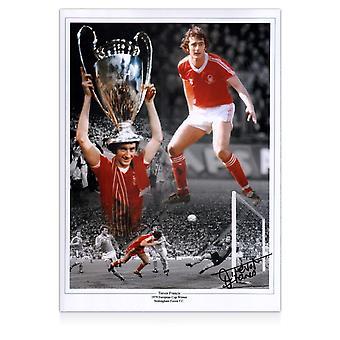 Trevor Francis Signed Nottingham Forest Photo: 1979 European Cup Winner