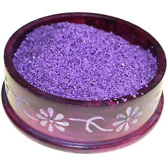 Lilla og Lavendel olje brenner Simmering granulater ekstra store Jar