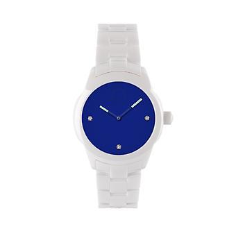 KRAFTWORXS Women's Watch horloge vollemaan keramische kristallen FML 2BL | BL S