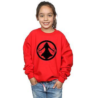 Marvel Girls Scarlet Witch Symbol Sweatshirt