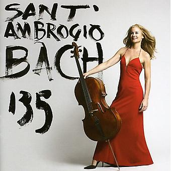 Sara Sant ' Ambrogio-J.S. Bach: Cello Suites 1, 3 & 5 [CD] USA Import