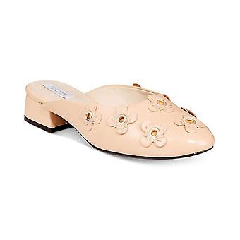 Cole Haan Womens Laree slide Leather Almond Toe Formal Mule Sandals