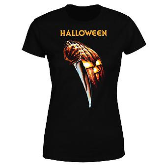 Halloween Pumpkin Women-apos;s T-Shirt - Noir