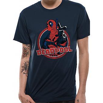 Marvel Deadpool - Logo Point T-Shirt
