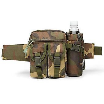 Taktikai derék táska-val víz üveg egybefűzés