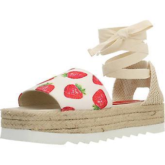 Jeffrey Campbell espadrilles 56557je kleur aardbeien