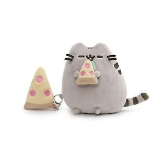 Gund Pusheen with Pizza Giftset (Plush & Keychain)