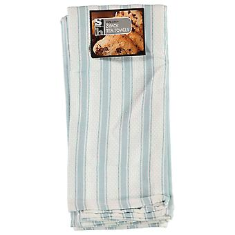 Daily Dining Unisex 3 Pack Lux Tea Towels