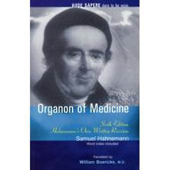 Organon of Medicine por Samuel Hahnemann & Traduzido por W Boericke