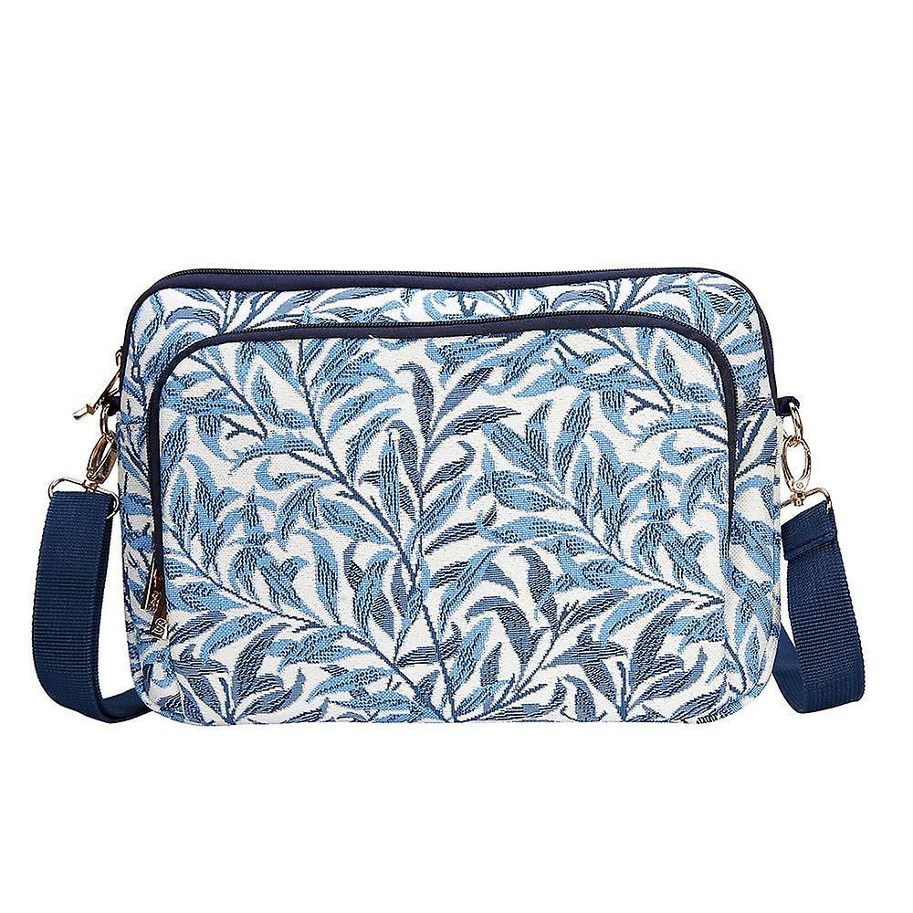 William morris - willow bough tablet bag by signare tapestry / 13 inch / tablet-wiow
