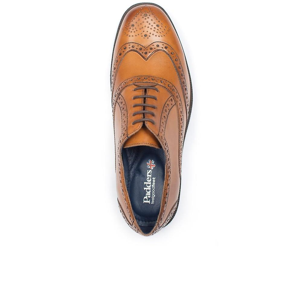 Padders Oxford Mens Wide Lace-up Sko