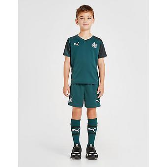 New Puma Boys' Newcastle United FC 2019/20 Away Kit Green