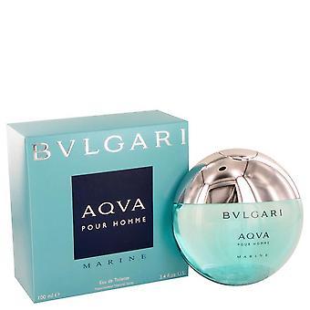 Bvlgari Aqua Marine Eau De Toilette Spray Par Bvlgari 449256 100 ml