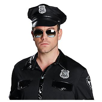 Politiet solbriller politiet solbriller COP tonede glas tilbehør karneval