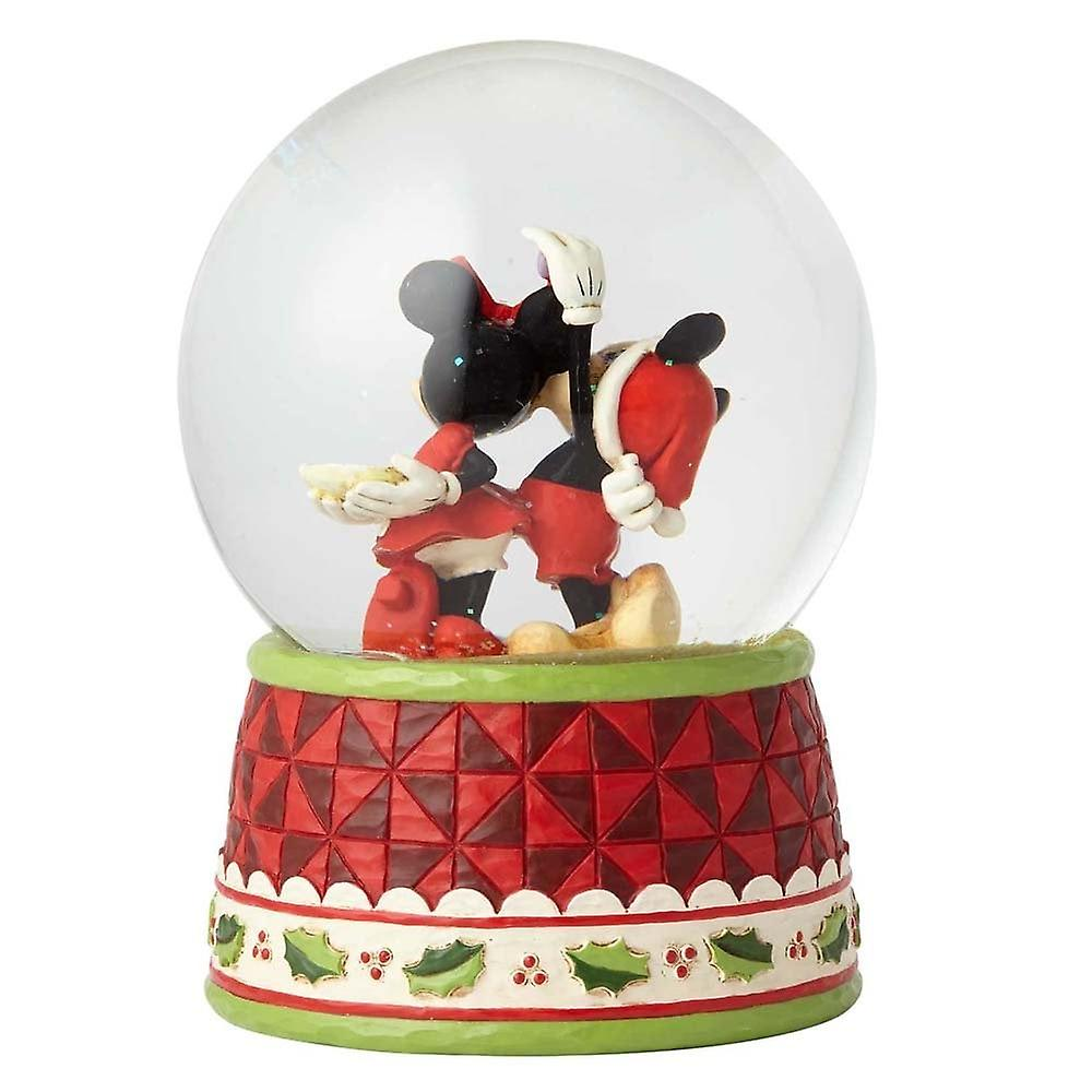 Disney Traditions Under The Mistletoe Mickey & Minnie Waterball