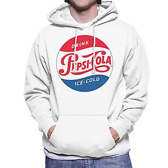 Pepsi Cola 1954 Ice Cold Men's Hooded Sweatshirt