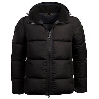 Barbour International Fibre Down Quilted Soot Jacket