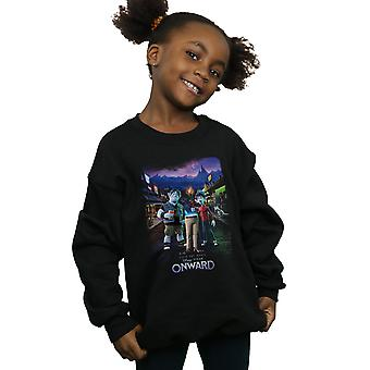 Disney Girls Onward Character Poster Sweatshirt