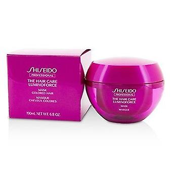 Shiseido The Hair Care Luminoforce Mask (cabelo colorido) 190ml/6.8oz