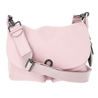 الماندرين بطة يانع الجلود الوردي حزام حقيبة نسائية (روز ميتال) 12x27.5x28 سم (W x H x L)