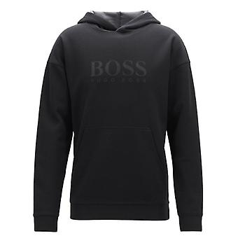 Hugo Boss vrijetijdskleding Hugo Boss casual mens zwart trainingspak in Pique stof