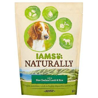 IAMS IAMS Naturally Adult Dog rich in New Zealand Lamb & Rice 800g