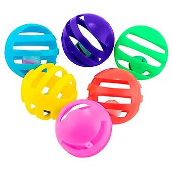 Nayeco Balls with bell for cats (Cats , Toys , Balls)