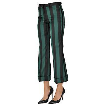 N°21 Ezgl068159 Women's Green Polyester Pants