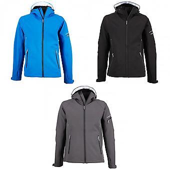Tee Jays Mens Hooded Fashion Softshell Jacket
