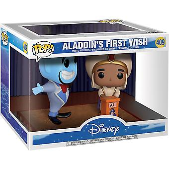 Funko Pop! Vinyl Disney Movie Moments Aladdin's First Wish #409 Genie Figure
