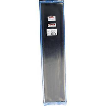 FASTECH® T01-107-500 Krok-och-slinga tejp stick-on (smältlim) Slinga pad (L x W) 500 mm x 100 mm Svart 1 st