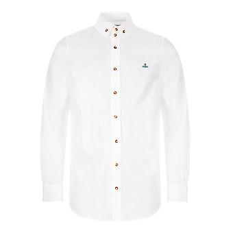 Vivienne Westwood Double Button Orb Logo Shirt