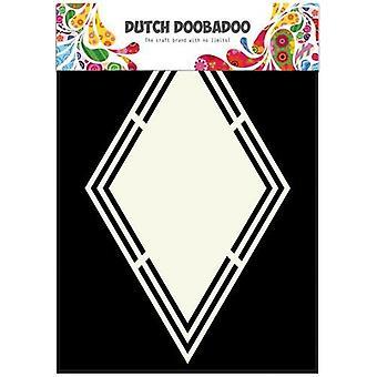 Dutch Doobadoo Dutch Shape Art rhombus A5 470.713.150
